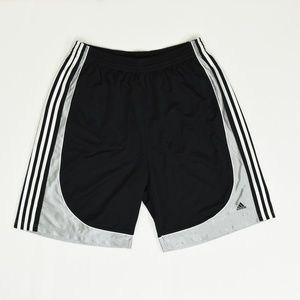 Adidas Big & Tall 2XL Black   Short Polyester Soli